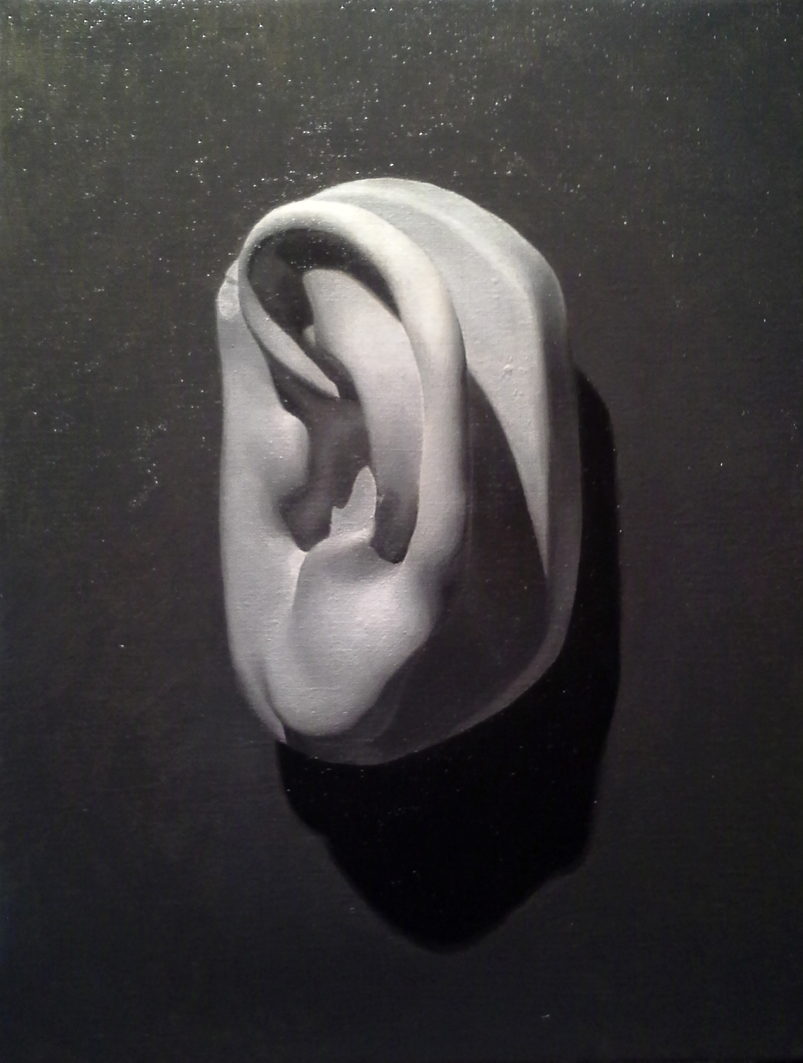 untitled, cast ear