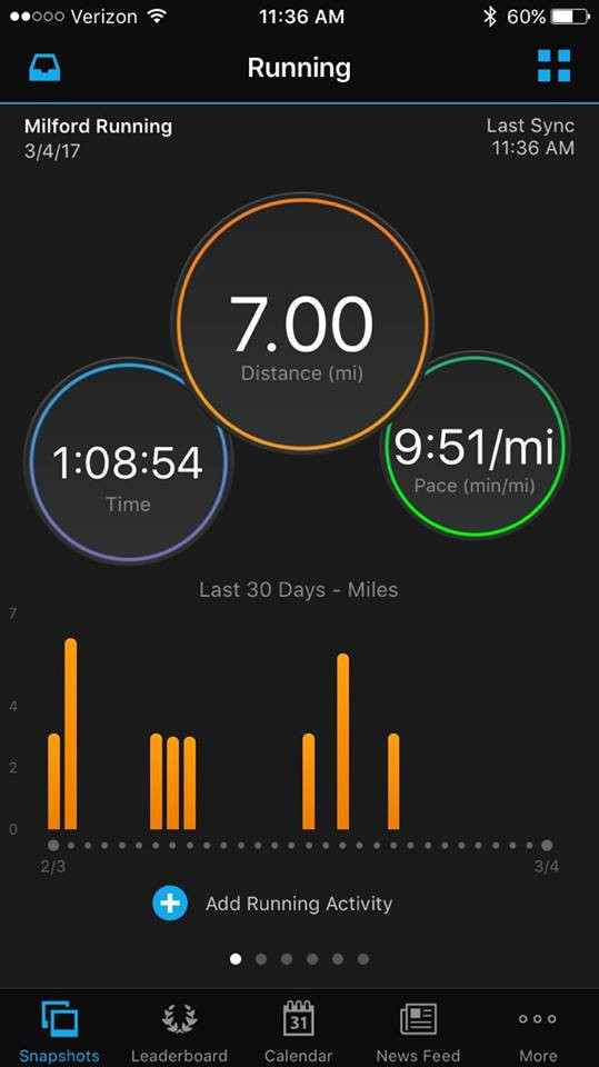 #Novihalfmarathon #training #043017