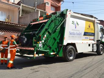 Coleta de Lixo em Santo André tem 76,4% de ótimo e bom