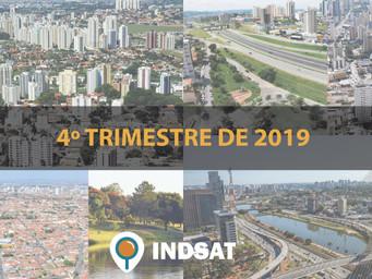 INDSAT inicia dia 13/01 divulgação dos índices do último trimestre de 2019