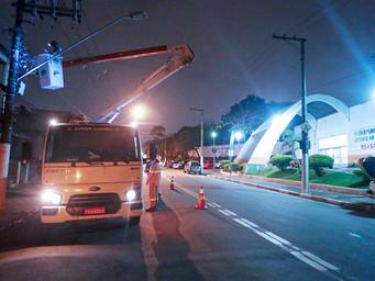 Iluminação de Osasco tem 64,1% de ótimo e bom