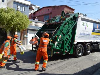 Coleta de Lixo tem Alto Grau de Satisfação em Santo André
