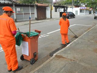 Limpeza registra 62% de ótimo e bom em São José dos Campos