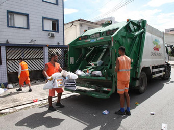 Coleta de Lixo é aprovada por 87,1% dos santistas