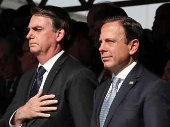 Governo Doria é reprovado por 25%; gestão de Bolsonaro tem 33% de reprovação no Estado de São Paulo