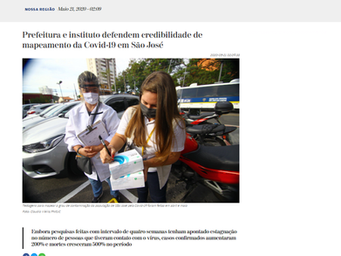 Prefeitura e instituto defendem credibilidade de mapeamento da Covid-19 em São José