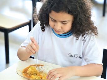 Merenda Escolar de Guarulhos tem 43% de aprovação