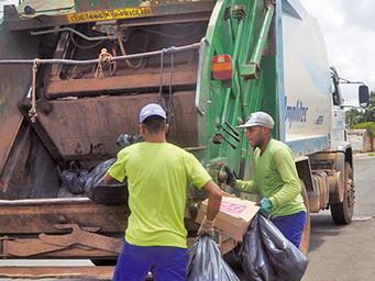 Coleta de Lixo é o melhor serviço prestado em Rio das Pedras