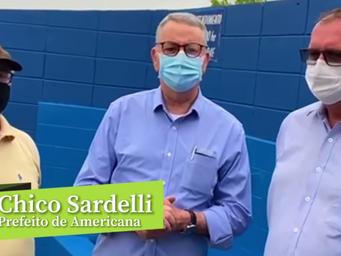 Chico Sardelli assume Americana tendo a água como maior desafio