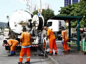 Limpeza Pública de Santos obtém Alto Grau de Satisfação, mas algumas regiões exigem atenção