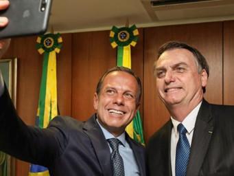 Governo Doria tem 34% de aprovação no Estado; gestão de Bolsonaro é aprovada por 40%