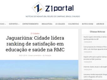 Jaguariúna: Cidade lidera ranking de satisfação em educação e saúde na RMC