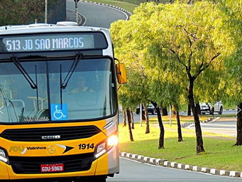 Transporte Público de Valinhos termina 2020 como o melhor da RMC