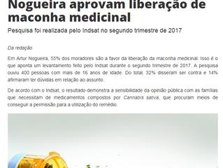 55% dos moradores de Artur Nogueira aprovam liberação de maconha medicinal