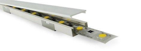 Aufbauprofile, LED-Profile