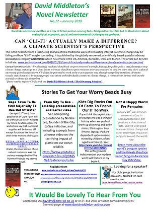 Novel Newsletter 12
