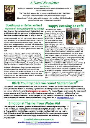 Novel Newsletter 3