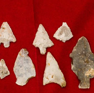 Flint Arrow Heads