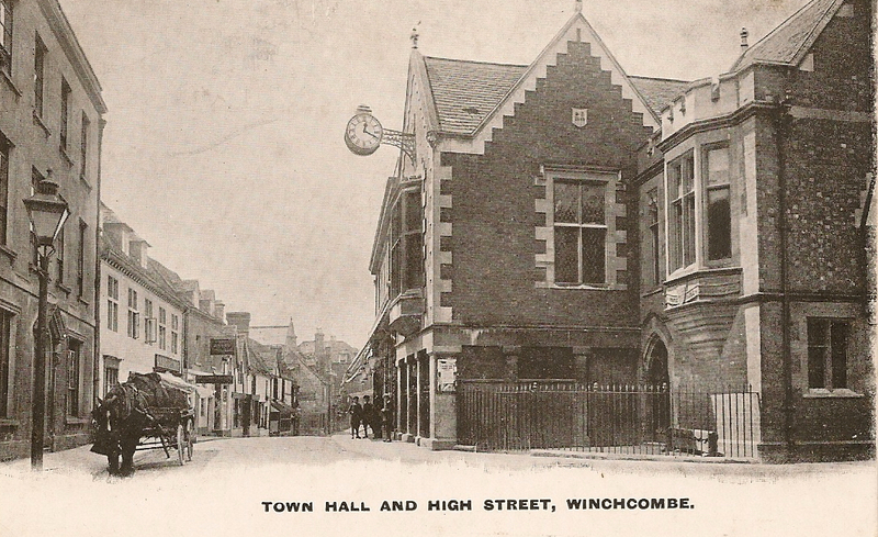 Town Hall in early 20th Century