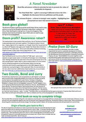 Novel Newsletter 1