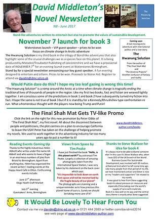 Novel Newsletter 8