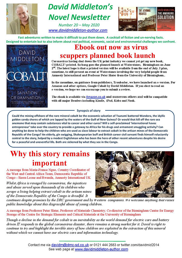 Novel Newsletter No 20 - May 2020 V2_000