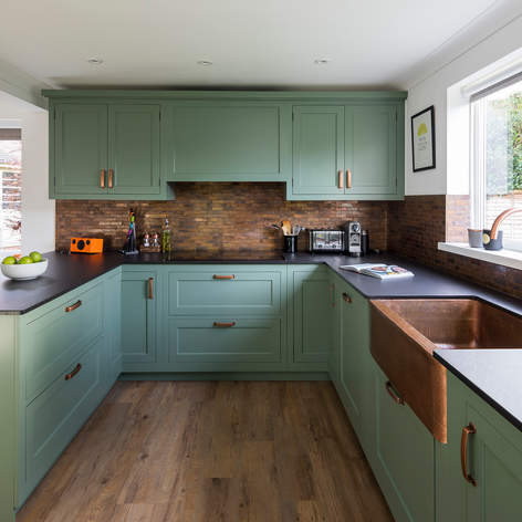 Neptune Henley Kitchen in Sage