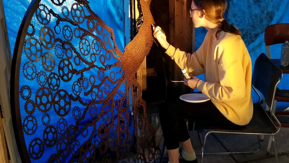 Meet Frozen Phoenix Art