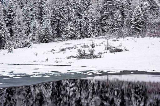 Spiegelung - Lej da Staz