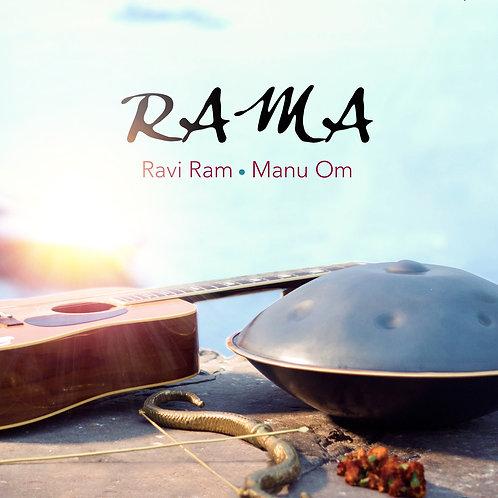 Disco FÍSICO Ra Ma firmado por Ravi Ram