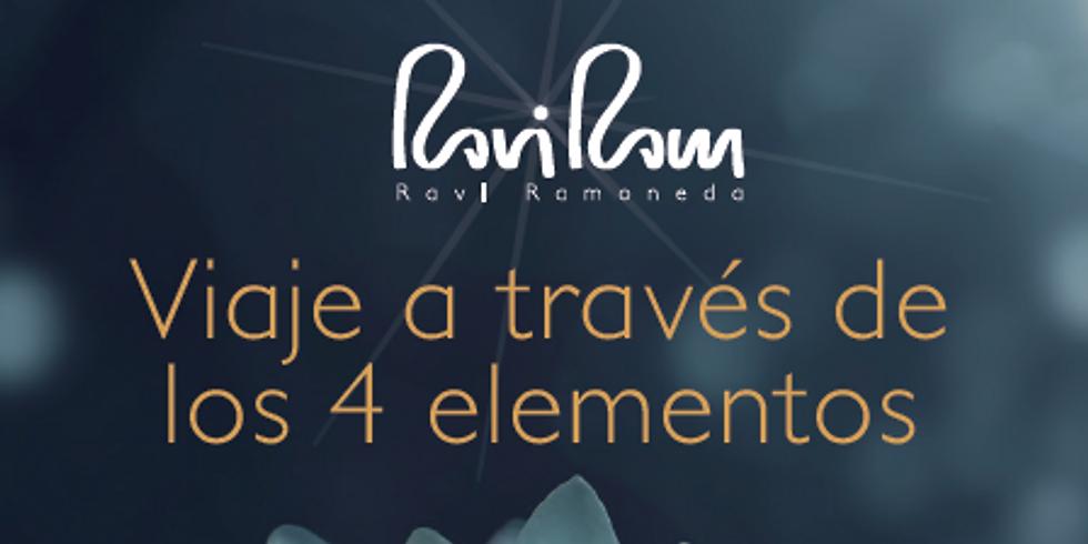 RETIR DE CAP D'ANY, Viatge a través dels 4 elements