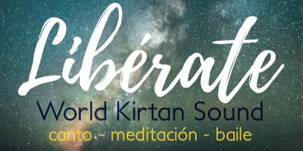 WORLD KIRTAN SOUND, una nit d'alliberament