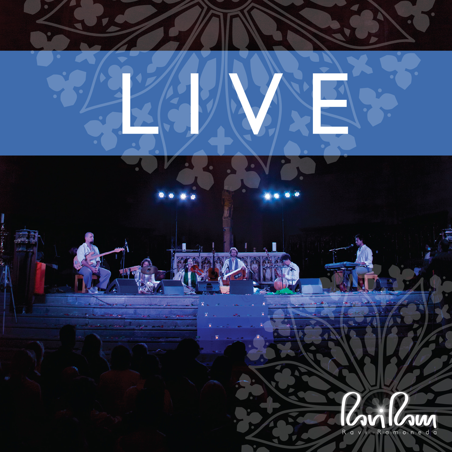 live cd cover