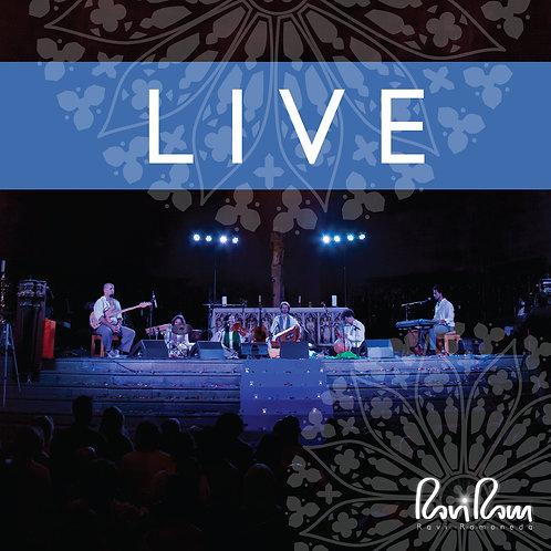 Disco doble FÍSICO Live firmado por Ravi Ram