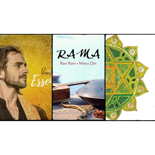Pack 2 discos FÍSICOS firmados por Ravi Ram