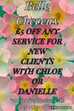 New Clients: £5 off any service for you with Chloe or Danielle.