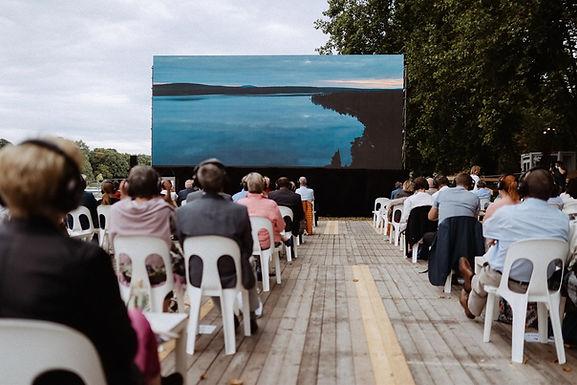 Hannelore-Kohl-Promenade aus Sicherheitsgründen für Filmfestival-Aufbau abgesperrt