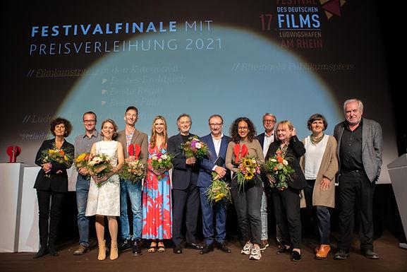 Die Filmkunstpreise 2021 des 17. Festival des deutschen Films Ludwigshafen am Rhein sind vergeben