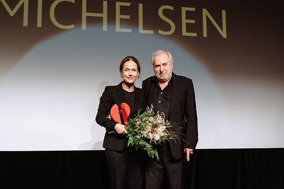 Preisgala für Claudia Michelsen: Heute Abend bin ich verliebt in Ludwigshafen!