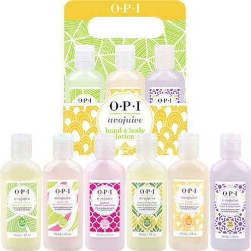 OPI AVOJUICE HAND & BODY LOTION - 6 X 30ml