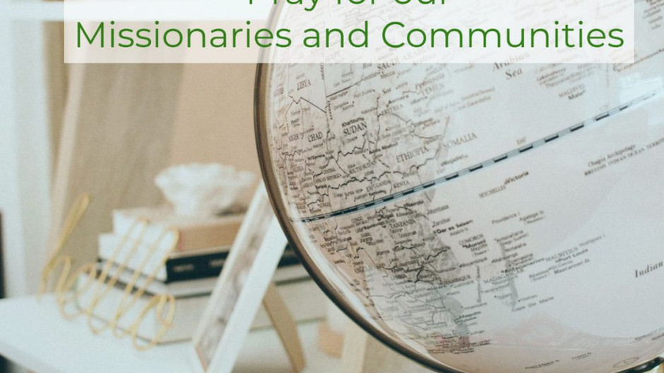CrossRoad Thursday in Prayer for Missionaries & Community