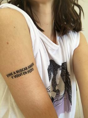 Tattoo para tu fiesta