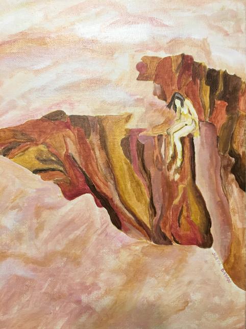 mujer en la tierra