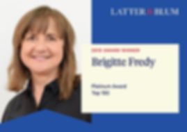 Brigitte Fredy Platinum Award
