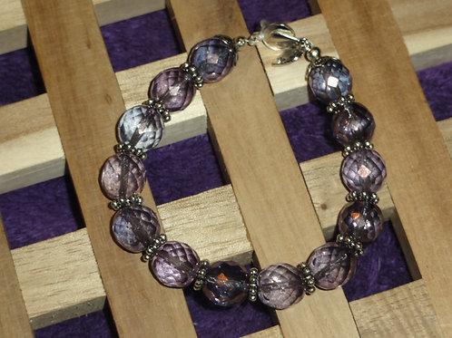 Armband aus böhmischem Glas