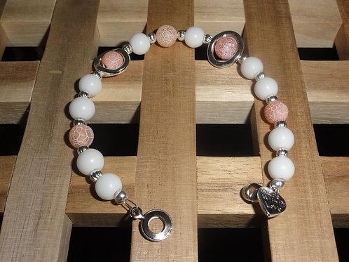 Armband aus Jade und Achat