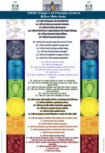 Blurred-Queen Mother Imakhu's 42 Princip