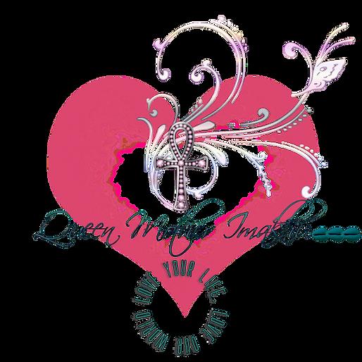 Queen Mother Imakhu logo pink heart cowr