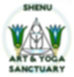 Shenu Art Yoga Sanctuary Logo by Queen M