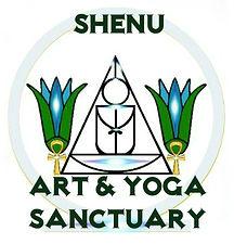 Shenu Art Yoga Sanctuary Logo by Queen M